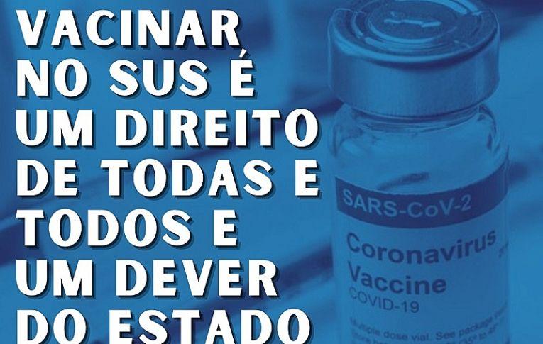 Rede de médicos populares defende vacinação como obrigação do Estado brasileiro