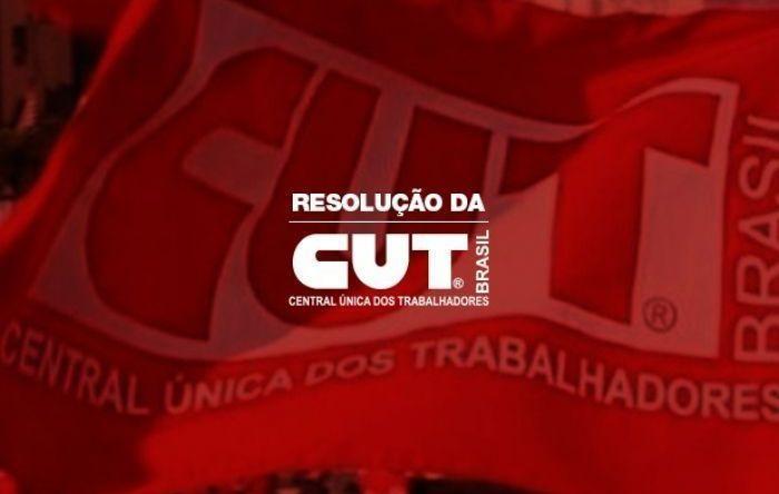Resolução da CUT reforça luta por vacina, SUS, auxílio de R$ 600 e fora Bolsonaro