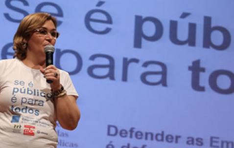 Rita Serrano vota contra mudança que quer tornar Caixa uma empresa S/A