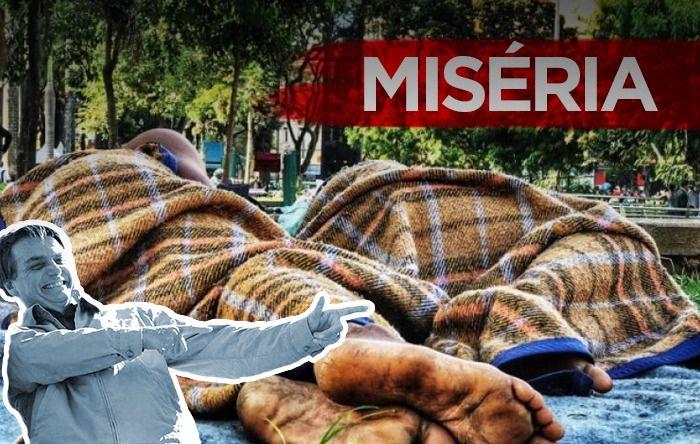Sem política social, governo Bolsonaro deixa milhões de famílias na miséria