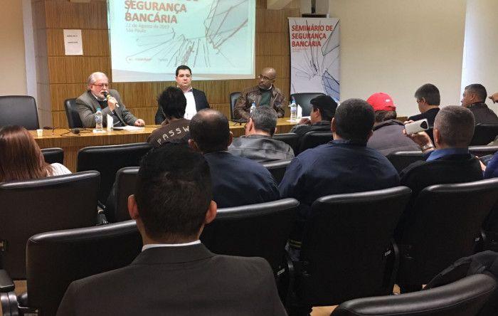 Seminário debate estratégias contra violência nas agências