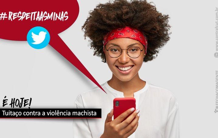 Será hoje o tuitaço de combate à violência contra a mulher
