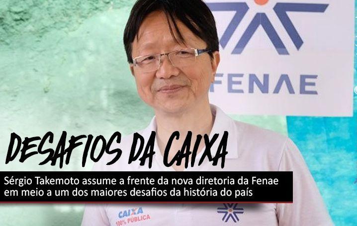 Sérgio Takemoto assume a frente da nova diretoria da Fenae em meio a um dos maiores desafios da história do país