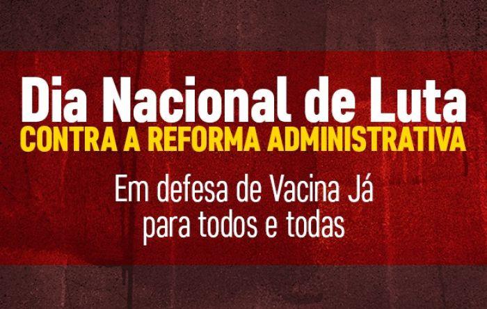 Servidores fazem carreatas nesta segunda em defesa da Vacina Já e do serviço público