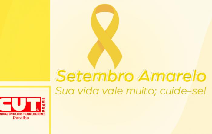 Setembro Amarelo: a luta também é contra retirada de direitos e pressão por metas