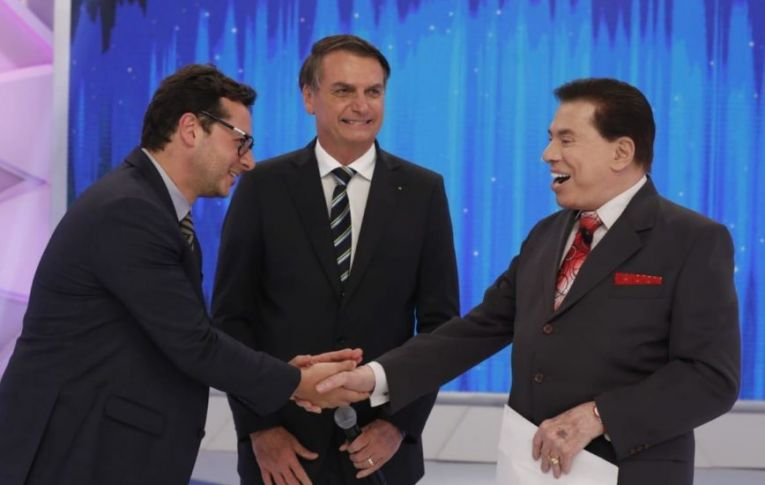 Silvio Santos barra principal telejornal do SBT após repercussão de reunião