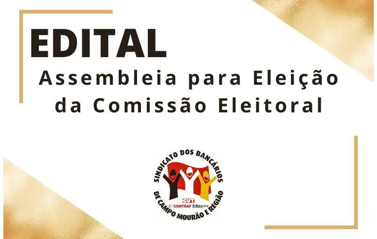 Sindicato de Campo Mourão convoca assembleia para eleição da Comissão Eleitoral