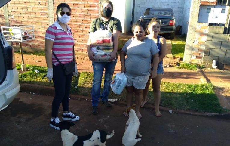 Sindicato de Campo Mourão participa de ações solidárias durante a pandemia