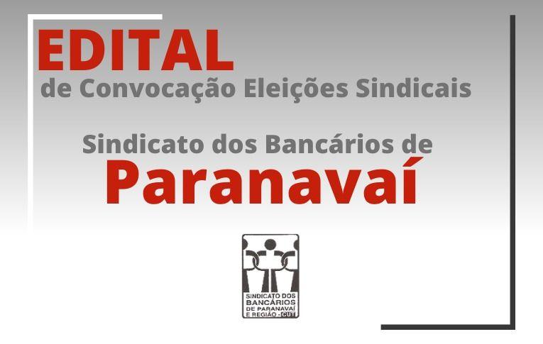 Sindicato de Paranavaí publica Edital de Convocação para as eleições da entidade