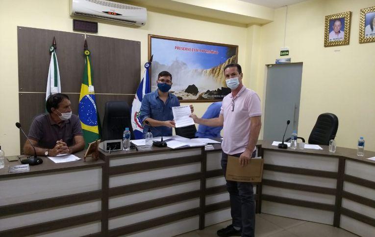 """Sindicato de Umuarama discutiu a """"Reestruturação"""" do BB com Vereadores de Mariluz"""