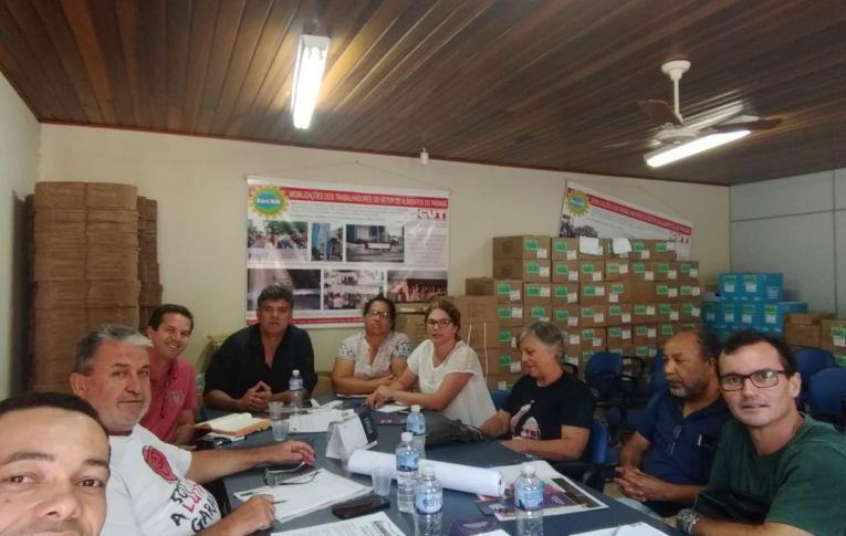 Sindicato de Umuarama participa de reunião da CUT Regional Noroeste