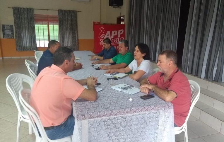 Sindicato de Umuarama participou de reunião para organizar a Greve Geral de 14 de Junho