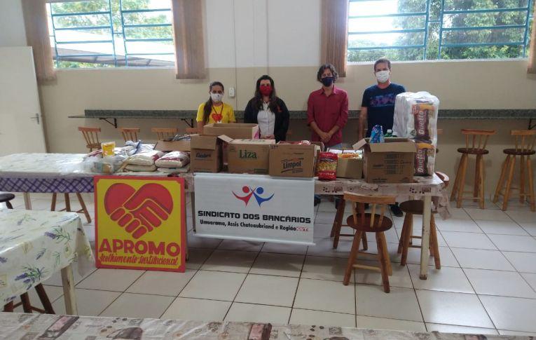 Sindicato de Umuarama realizou novas doações para entidades assistenciais