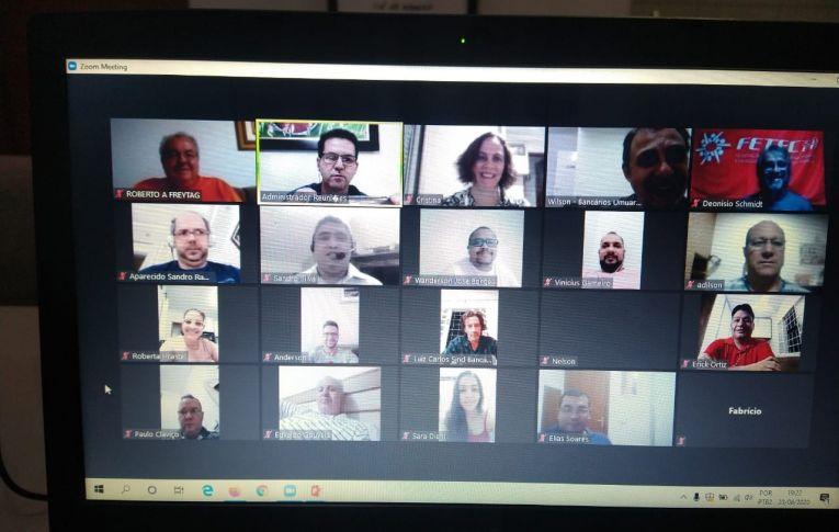 Sindicato de Umuarama realizou reunião para discutir a Campanha Nacional dos Bancários