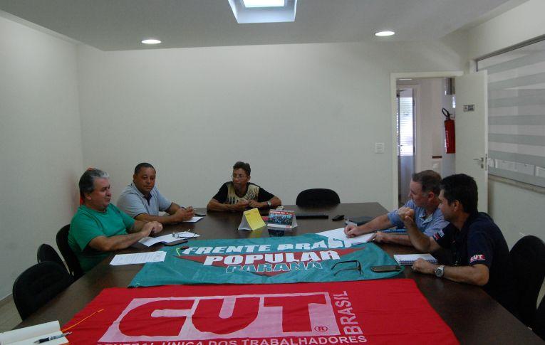 Sindicato de Umuarama recebeu reunião da CUT Regional Noroeste