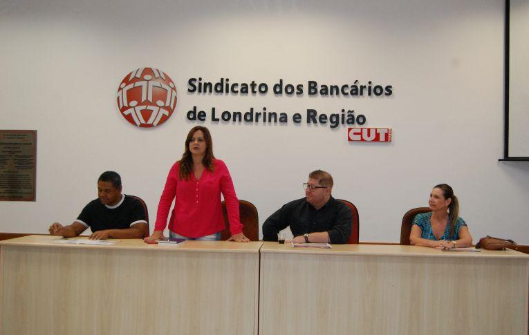 Sindicato dos Pactu participam de reunião de dirigentes sindicais do Itaú