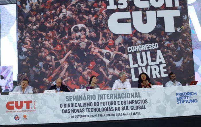 Sindicatos do mundo pregam união para vencer os desafios do futuro do trabalho