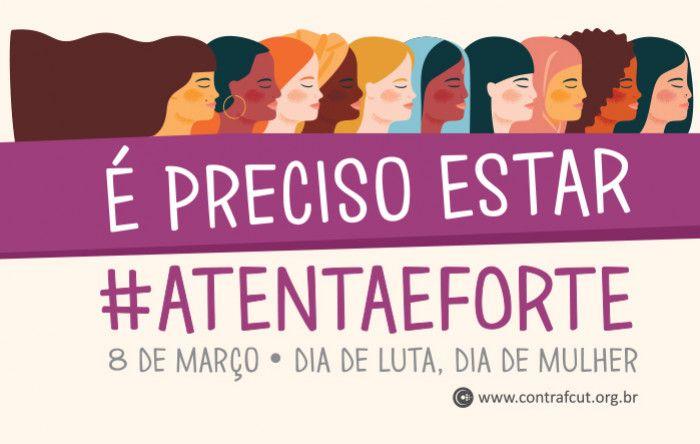 Sindicatos do Pactu celebram o Dia Internacional da Mulher