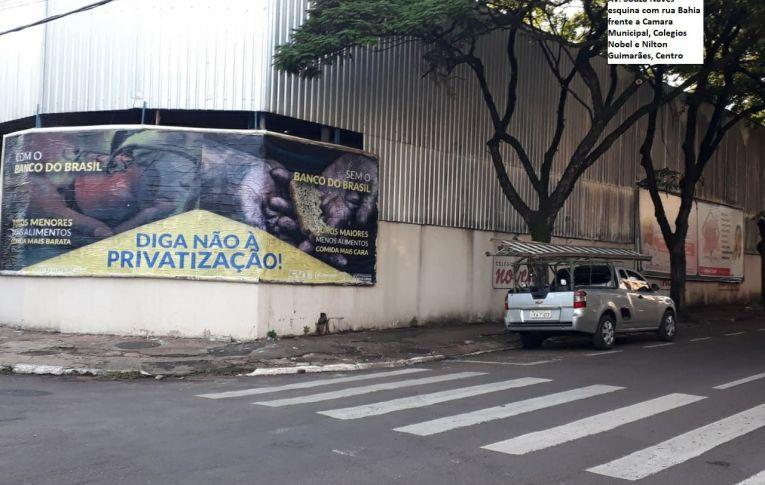 Sindicatos do Pactu participam de campanha de mídia contra a privatização do Banco do Brasil
