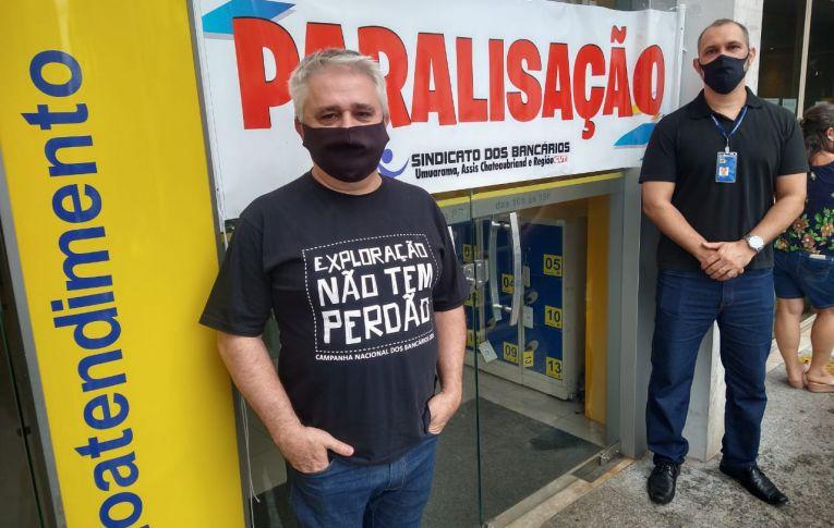 Sindicatos do Pactu participam de novas mobilizações no Banco do Brasil