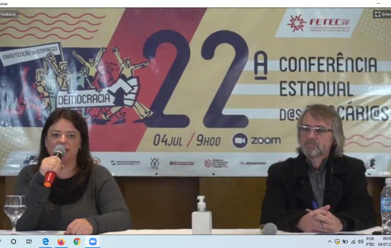 Sindicatos do Pactu participaram Da 22ª Conferência Estadual dos Bancários do Paraná