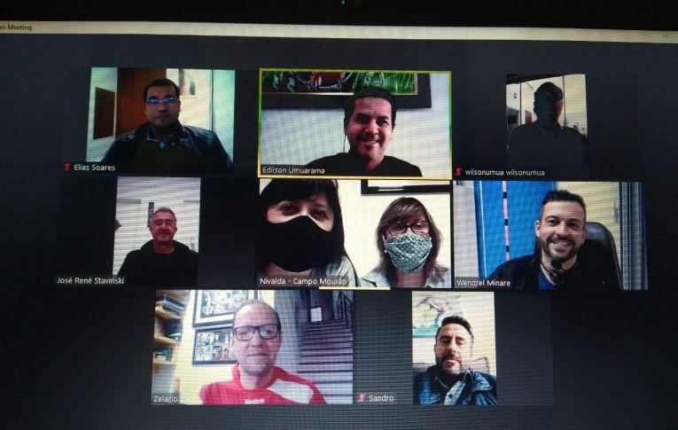 Sindicatos do Pactu realizaram reunião de seu Conselho Político por videoconferência