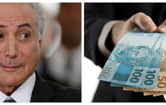 Temer está disposto a gastar mais R$ 30 bi para a reforma da previdência