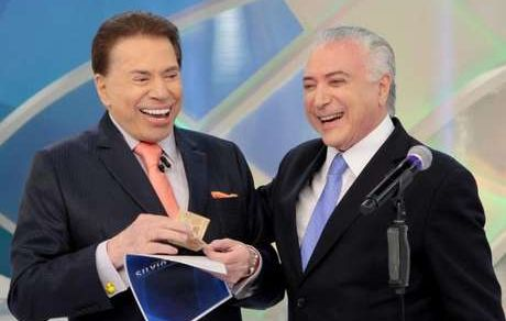Silvio Santos vira garoto-propaganda de Temer e é alvo de críticas nas redes sociais