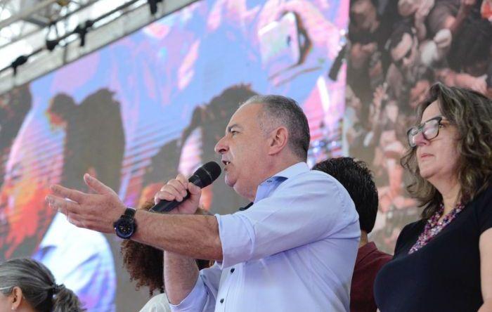 """""""Temos um governo que não gosta do povo brasileiro"""", afirma presidente da CUT"""