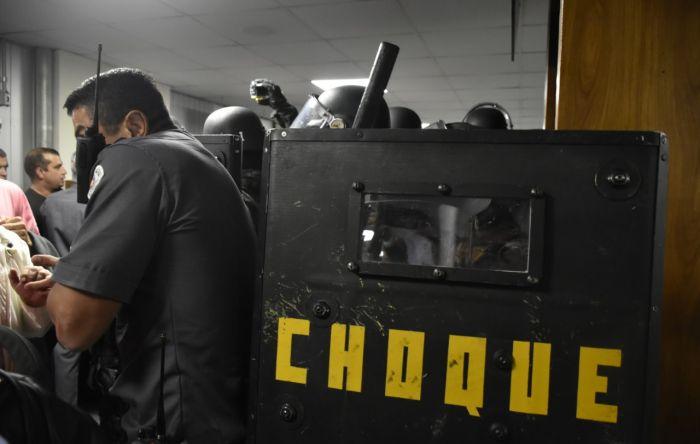 Tropa de Choque de Doria ataca servidores que lutam contra a reforma da Previdência
