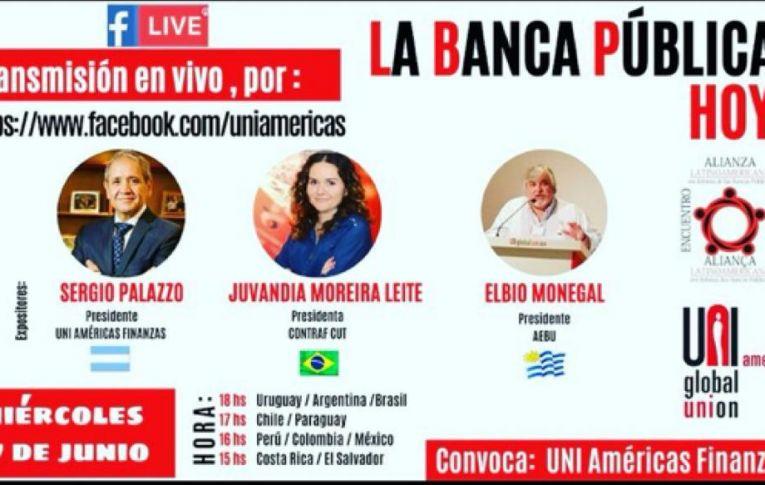 Uni Américas Finanças debate papel dos bancos públicos do Brasil, Argentina e Uruguai