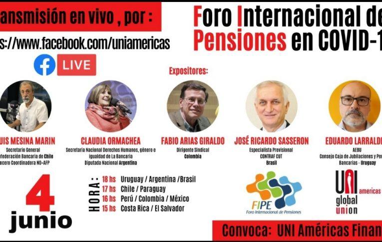 UNI Américas realiza Fórum Internacional de Previdência nesta quinta (4)