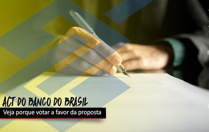 Veja porque votar a favor do acordo do Banco do Brasil