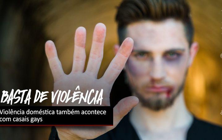 Violência doméstica também acontece com casais gays