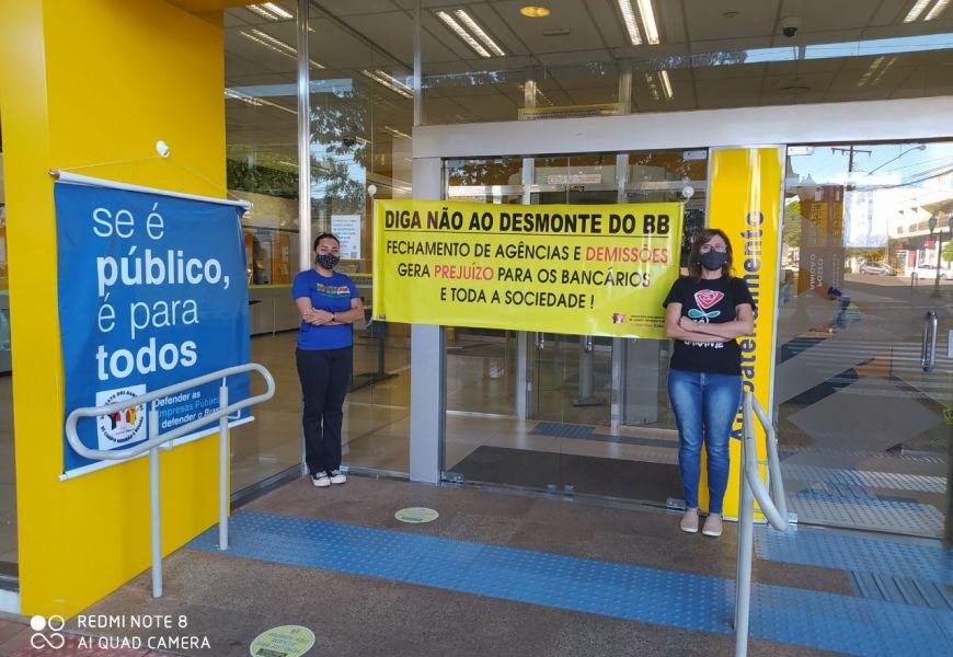 Foto Dia Nacional de Paralisações dos Funcionários do Banco do Brasil