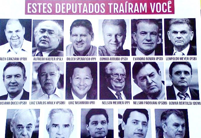 Foto Sindicatos do Pactu participam das manifestações de hoje, 31/3, contra as reformas de Temer