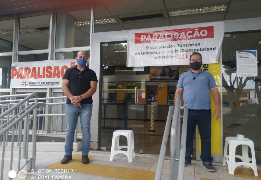 Foto Paralisação Nacional dos Funcionários do Banco do Brasil